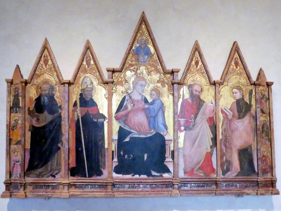 Ottaviano Nelli: Flügelaltar, 1403