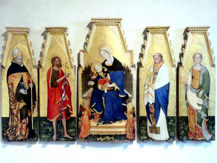 Lello da Velletri: Flügelaltar, um 1427