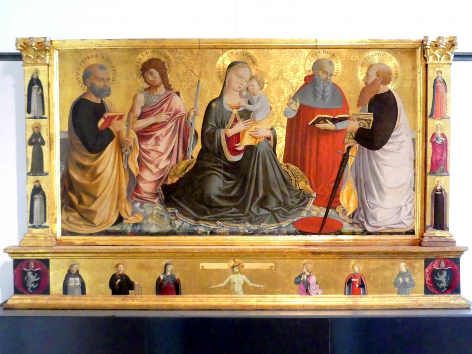 Benozzo Gozzoli: Altarretabel, 1456