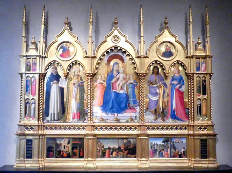 Fra Angelico: Altarretabel, 1447 - 1448