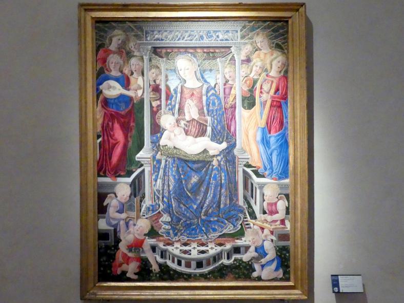 Giovanni Boccati: Orchester-Madonna, nach 1448