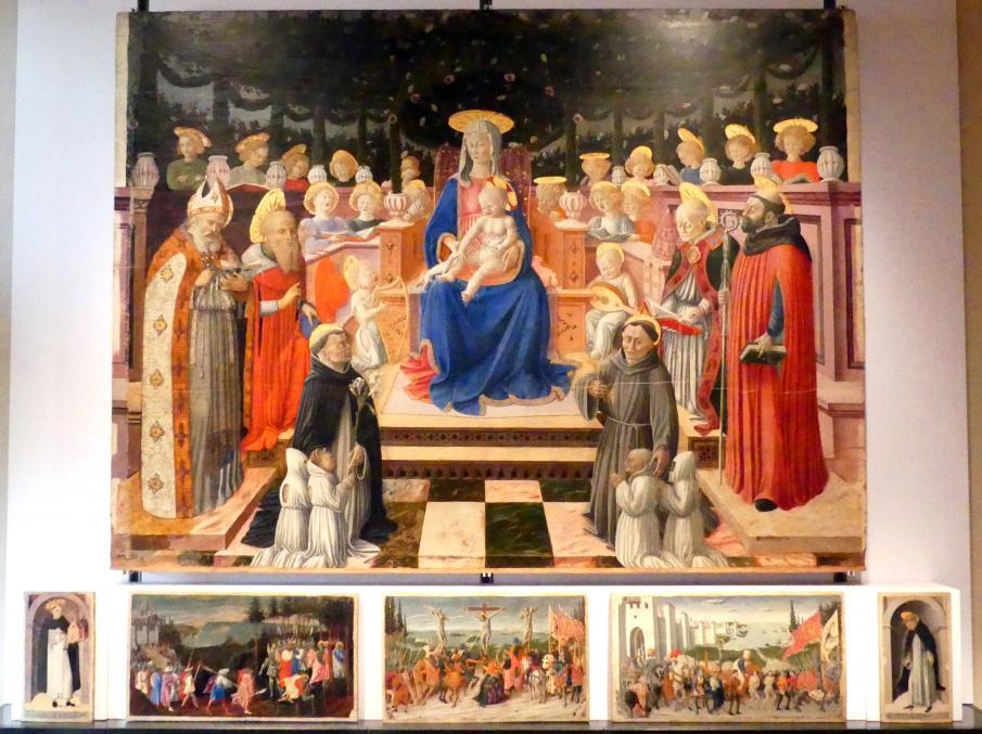 Giovanni Boccati: Pergola-Madonna, 1446 - 1447