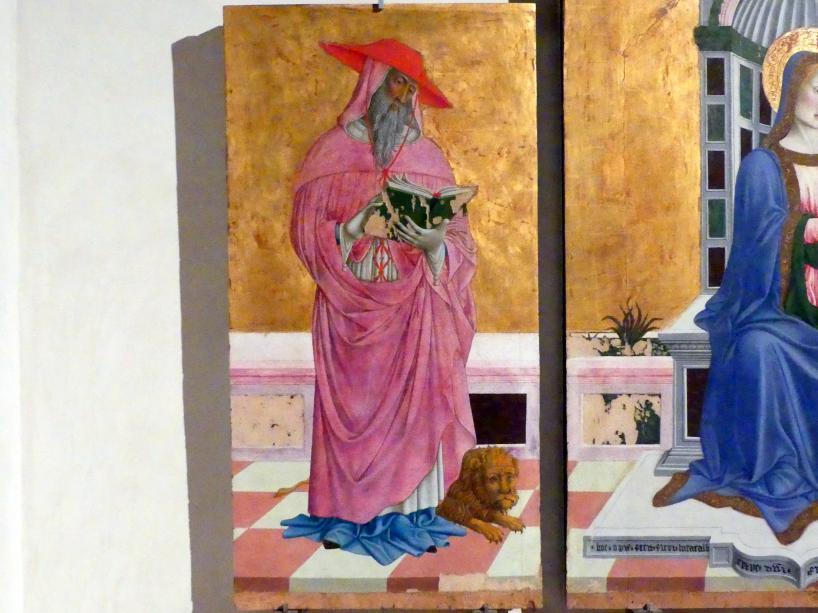 Giovanni Francesco aus Rimini: Triptychon, um 1464 - 1470, Bild 2/4