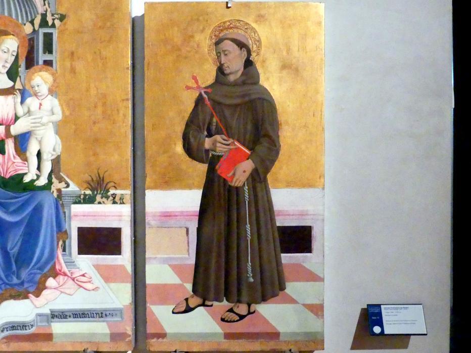 Giovanni Francesco aus Rimini: Triptychon, um 1464 - 1470, Bild 3/4
