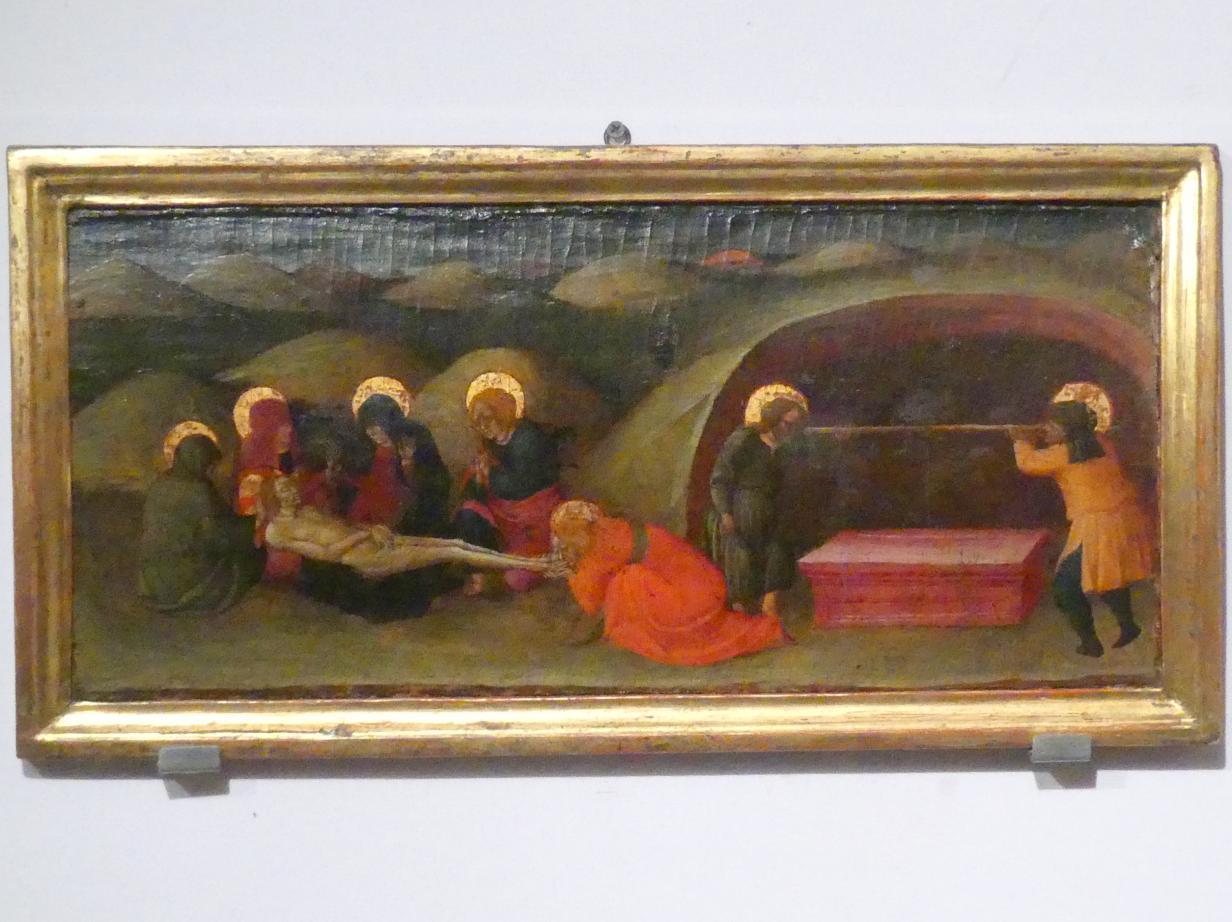 Bartolomeo di Tommaso (Bartolomeo da Foligno): Teil einer Predella, um 1430 - 1431