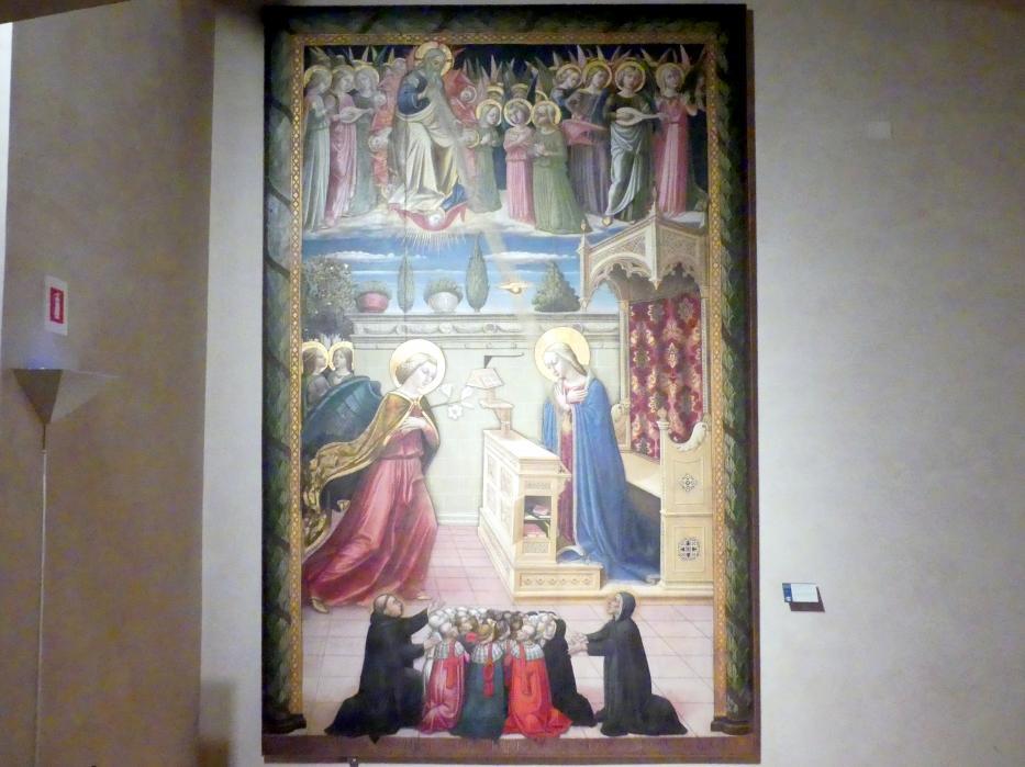 Nicolò Alunno (Niccolò di Liberatore): Mariä Verkündigung, 1466