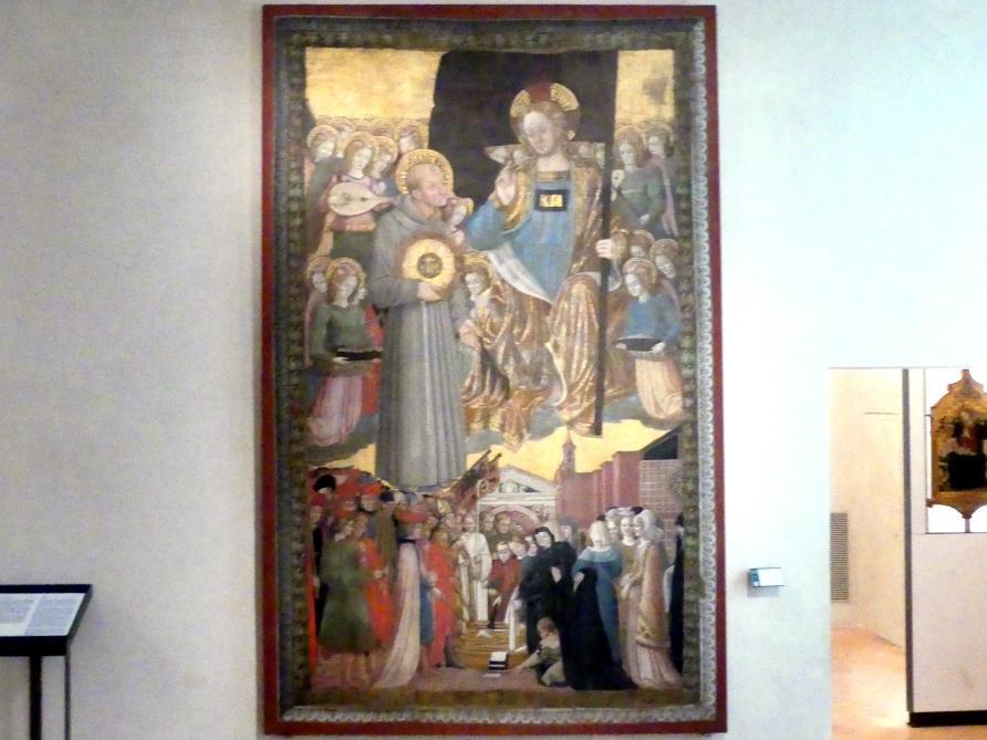 Benedetto Bonfigli: Gonfanon von San Bernardino, 1465