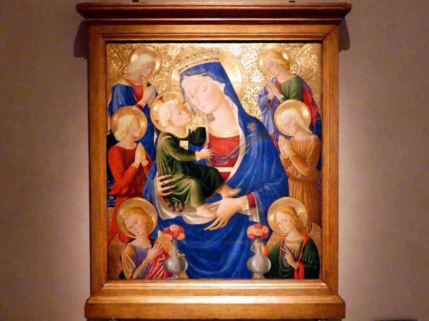Bartolomeo Caporali: Maria mit Kind, um 1465