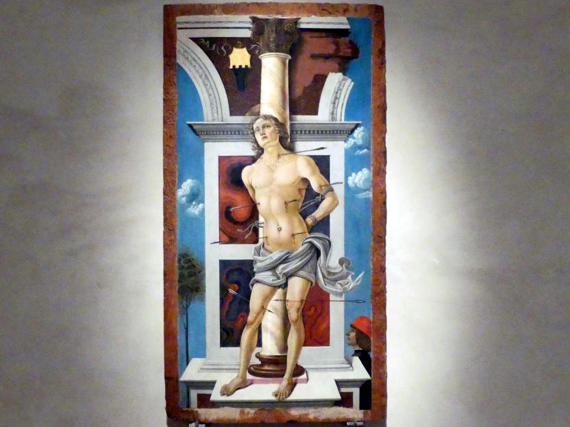 Sante di Apollonio del Celandro: Hl. Sebastian, um 1476 - 1478