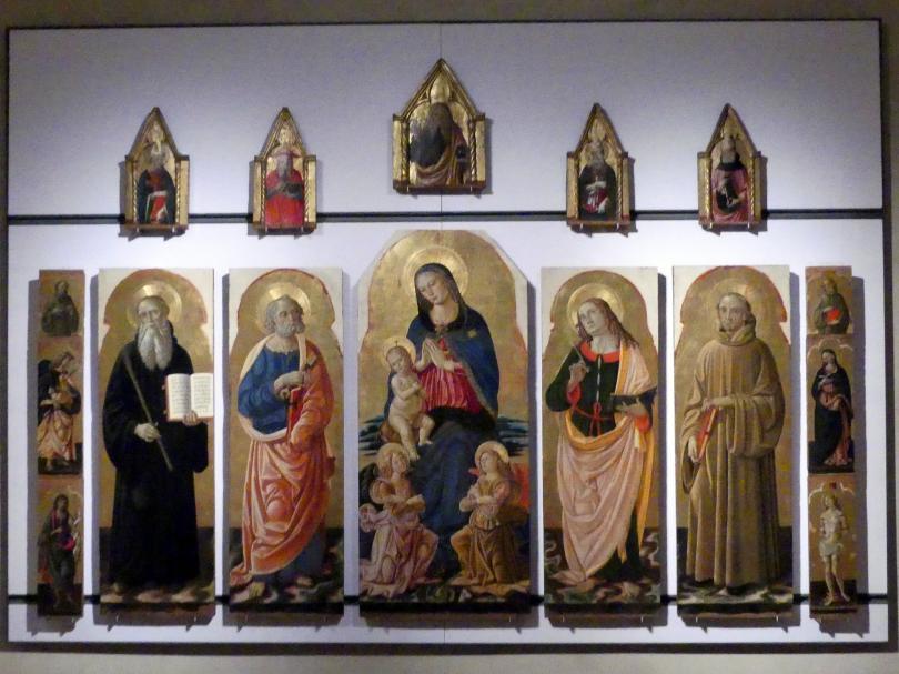 Fiorenzo di Lorenzo: Retabel, um 1487 - 1493
