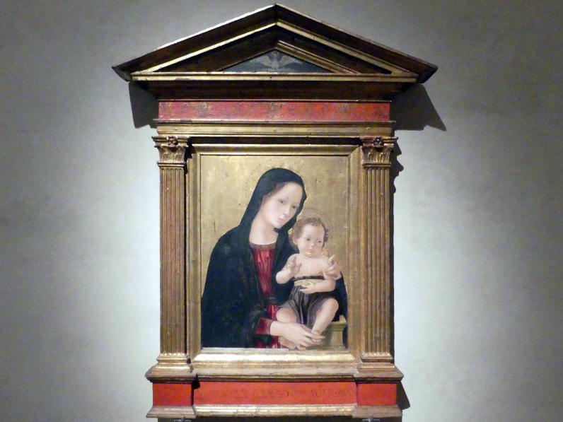 Antoniazzo Romano (Antonio di Benedetto degli Aquili): Maria mit Kind, 2. Hälfte 15. Jhd.