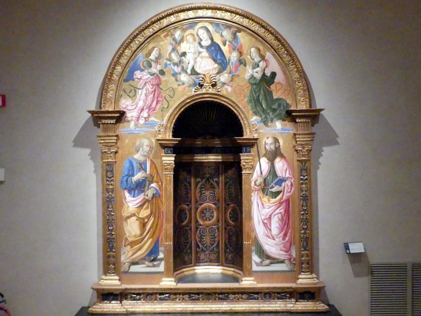 Fiorenzo di Lorenzo: Nische von San Francesco al Prato, 1487