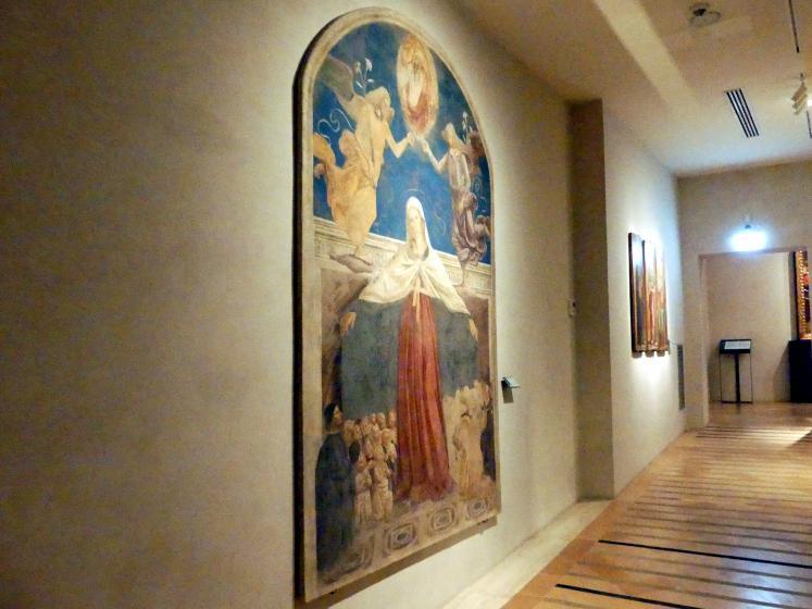 Fiorenzo di Lorenzo: Schutzmantelmadonna, 1476