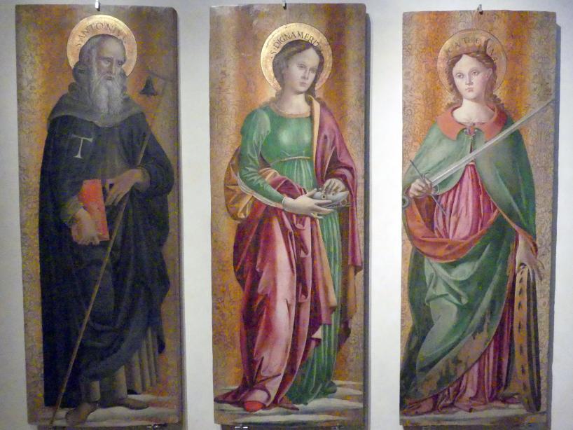 Fiorenzo di Lorenzo: Teile eines Retabels, um 1498