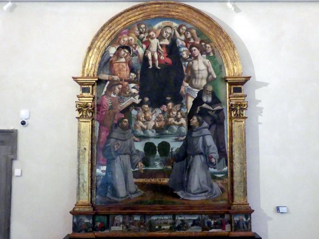 Luca Signorelli: Tafelbild von Paciano, 1517