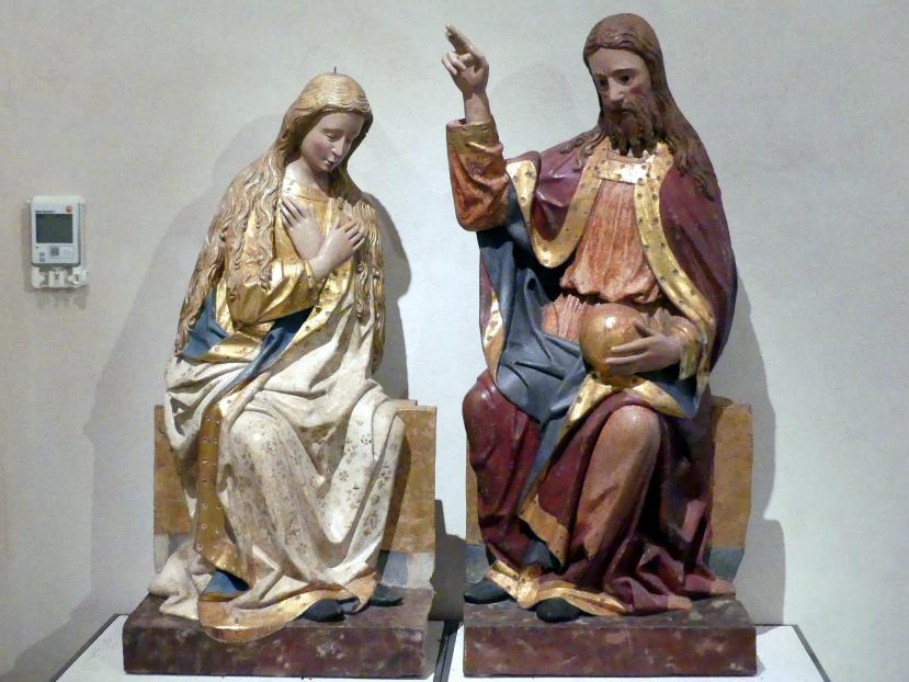 Krönung Mariens, um 1470 - 1480