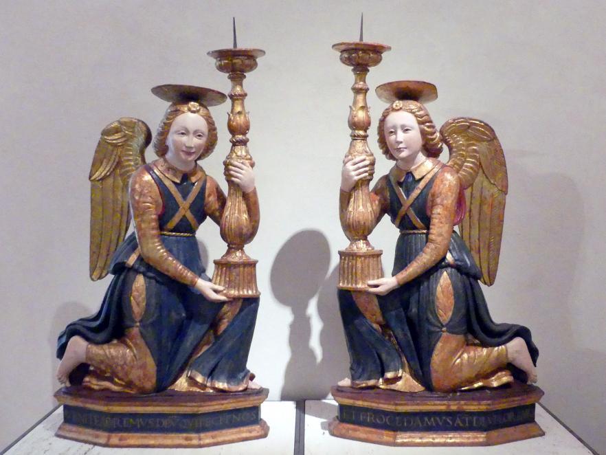 Kandelaberengel, um 1480 - 1500