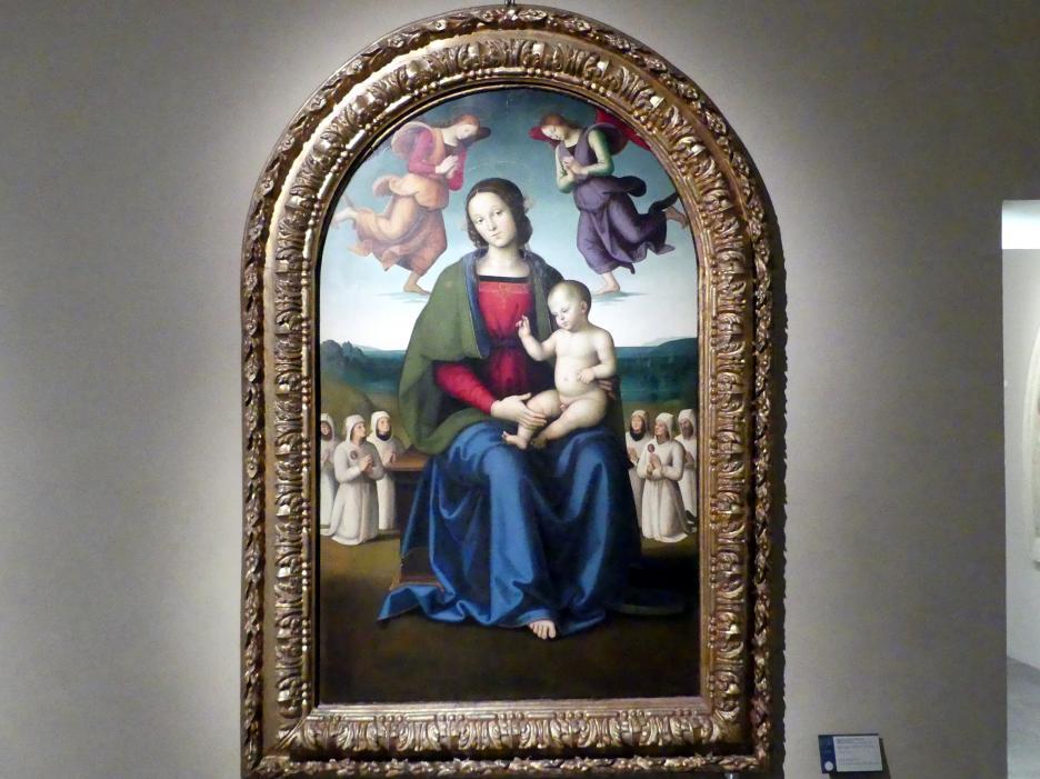 Pietro Perugino (Pietro di Cristoforo Vannucci): Madonna des Trostes, um 1496 - 1498