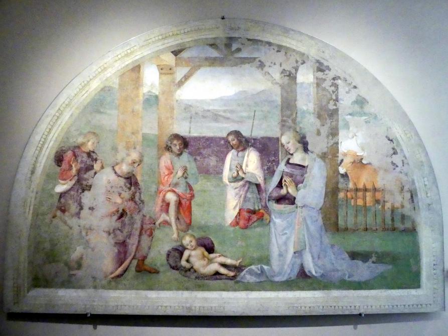 Pietro Perugino (Pietro di Cristoforo Vannucci): Anbetung der Hirten, um 1502