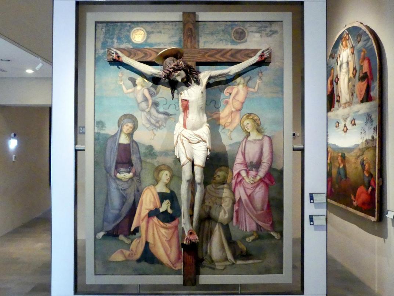 Pietro Perugino (Pietro di Cristoforo Vannucci): Kreuzigungsszene, um 1502 - 1504