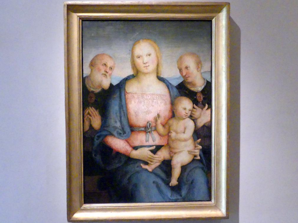 Pietro Perugino (Pietro di Cristoforo Vannucci): Madonna der Küche, um 1515