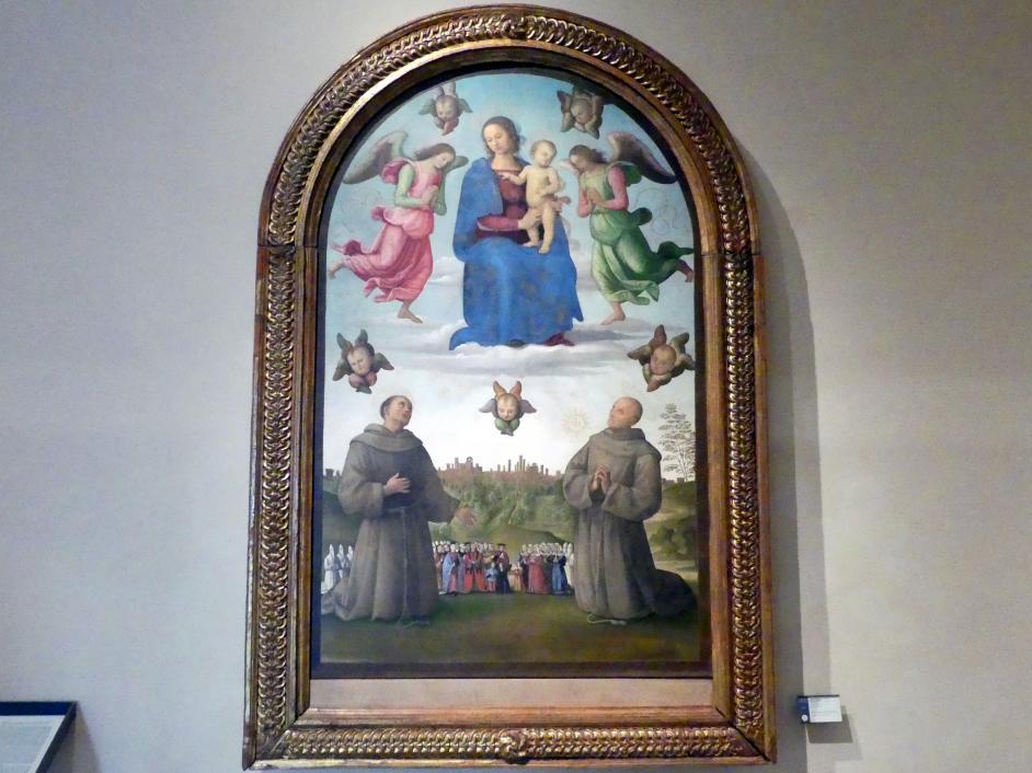 Pietro Perugino (Pietro di Cristoforo Vannucci): Banner der Gerechtigkeit, um 1496