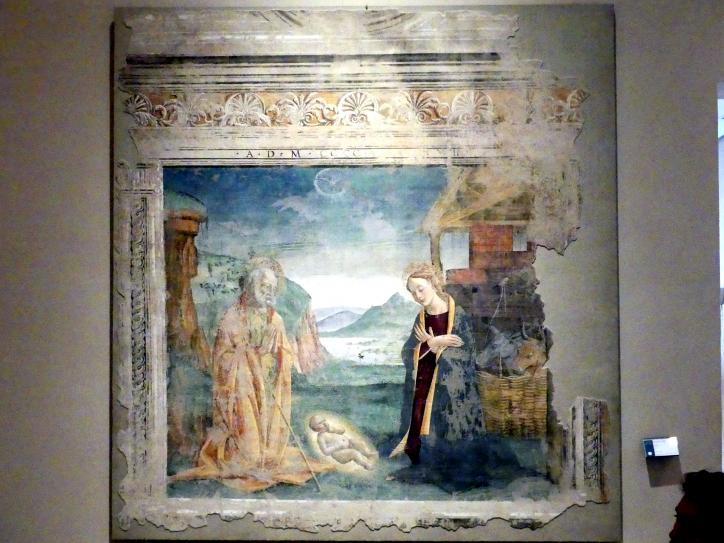 Fiorenzo di Lorenzo: Christi Geburt, 1498