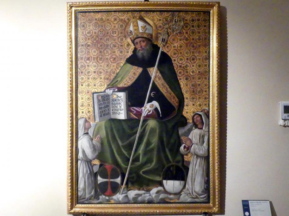 Pinturicchio (Pintoricchio): Heiliger Augustinus, 1499