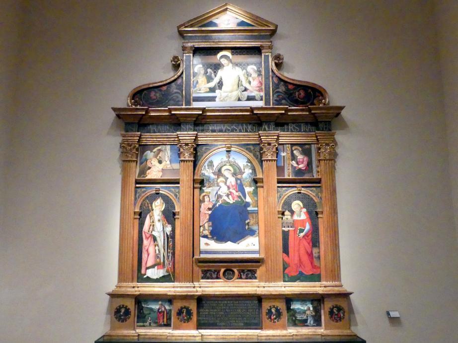 Pinturicchio (Pintoricchio): Altar von Santa Maria dei Fossi, um 1495 - 1496