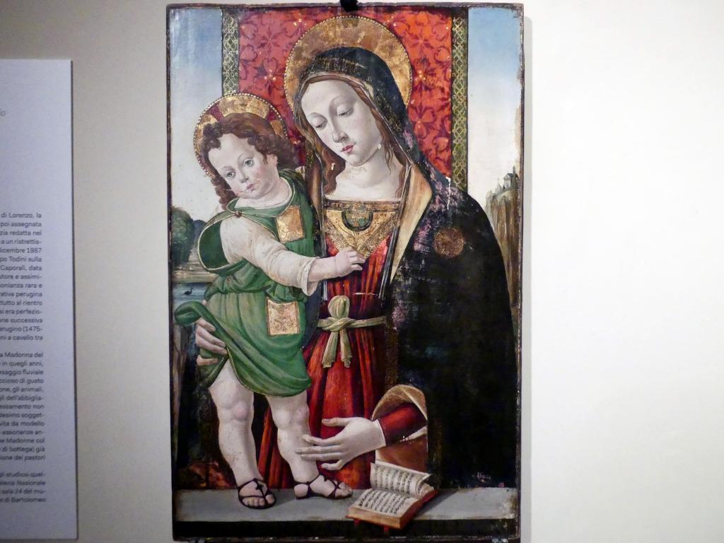 Pinturicchio (Pintoricchio): Maria mit Kind, um 1478 - 1490