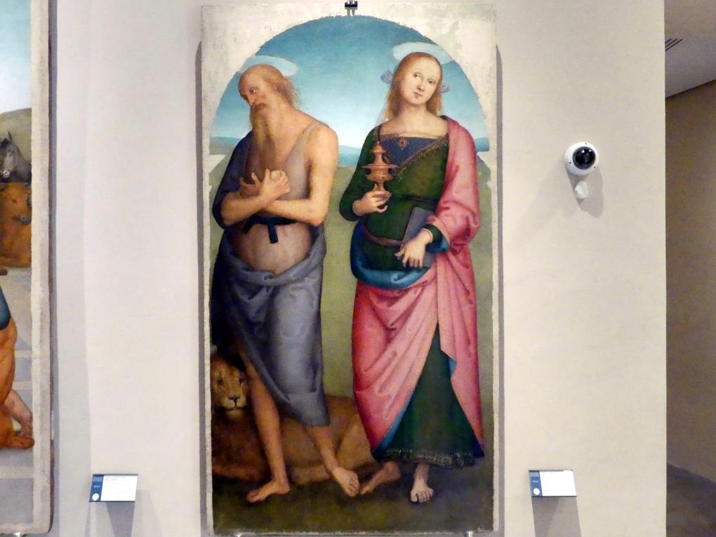 Pietro Perugino (Pietro di Cristoforo Vannucci): Teil eines Retabels, um 1502 - 1523