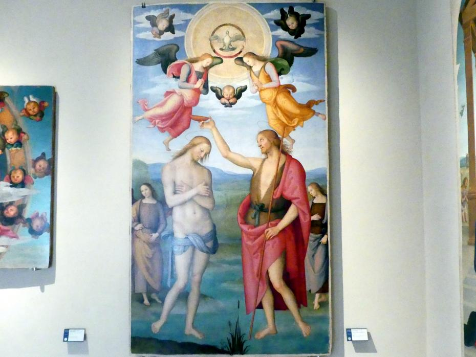 Pietro Perugino (Pietro di Cristoforo Vannucci): Taufe Christi, um 1502 - 1523