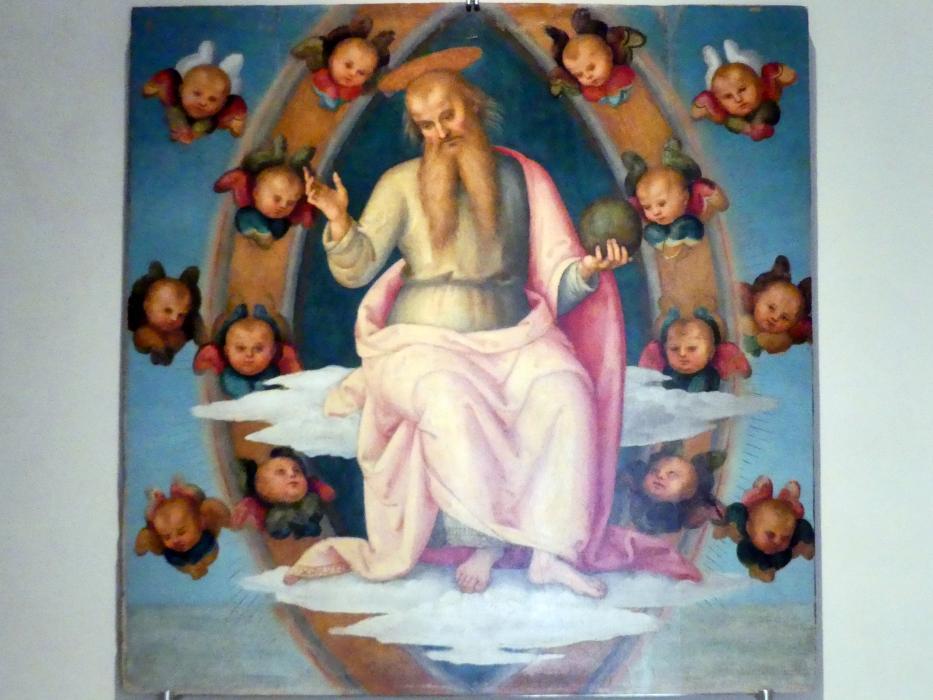 Pietro Perugino (Pietro di Cristoforo Vannucci): Gottvater, um 1502 - 1523