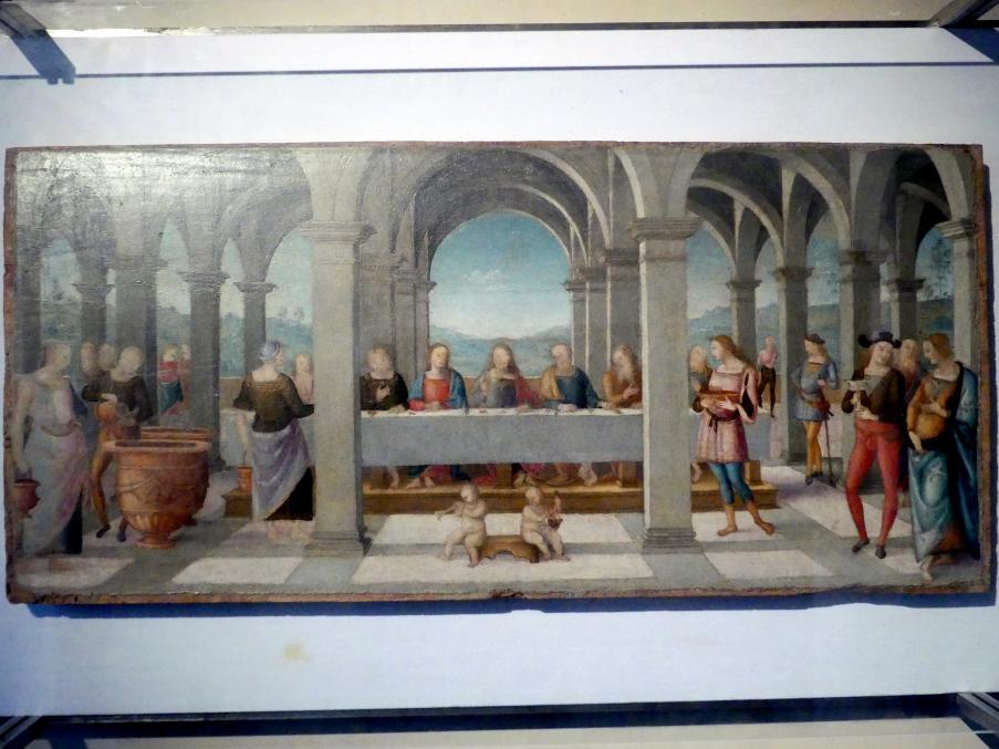 Pietro Perugino (Pietro di Cristoforo Vannucci): Hochzeit von Kana, um 1502 - 1523