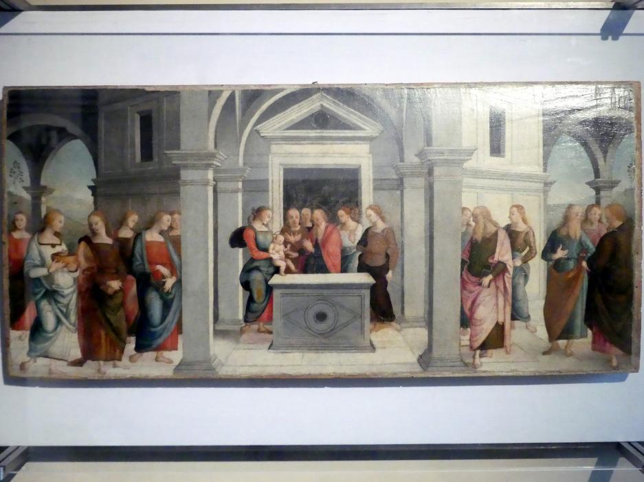 Pietro Perugino (Pietro di Cristoforo Vannucci): Darstellung des Herrn, um 1502 - 1523
