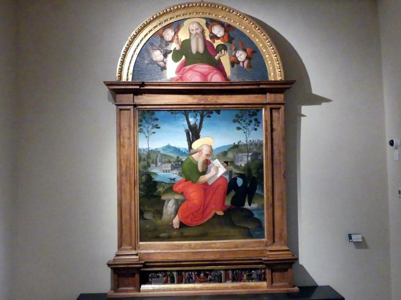 Berto di Giovanni: Evangelist Johannes, um 1518