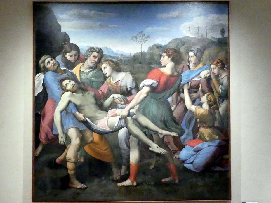 Giuseppe Cesari (Il Cavaliere d'Arpino): Christus wird zum Grabe getragen, um 1608