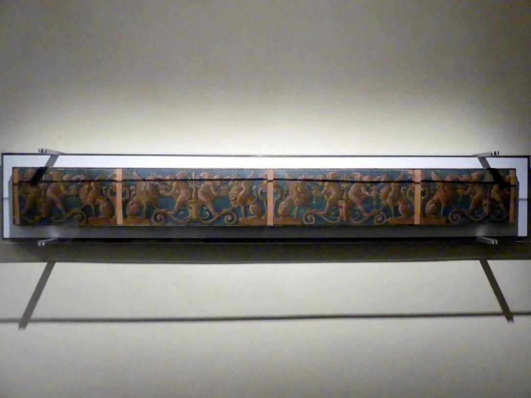 Fries mit Putten und Greifen, um 1507