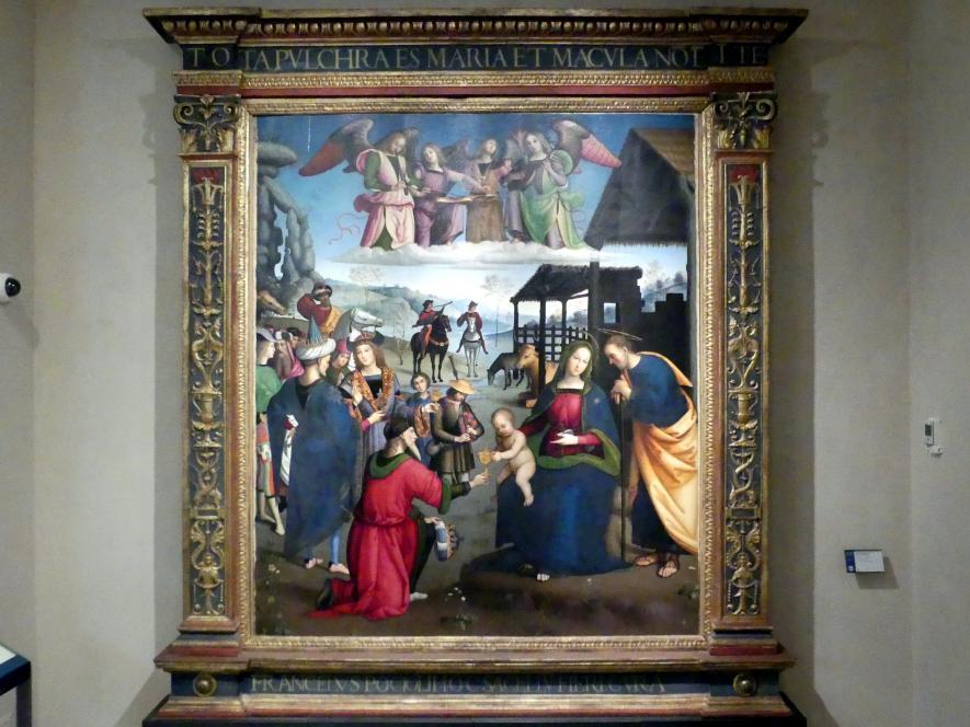 Eusebio da San Giorgio (Eusebio di Jacopo di Cristoforo): Anbetung der Könige, 1505
