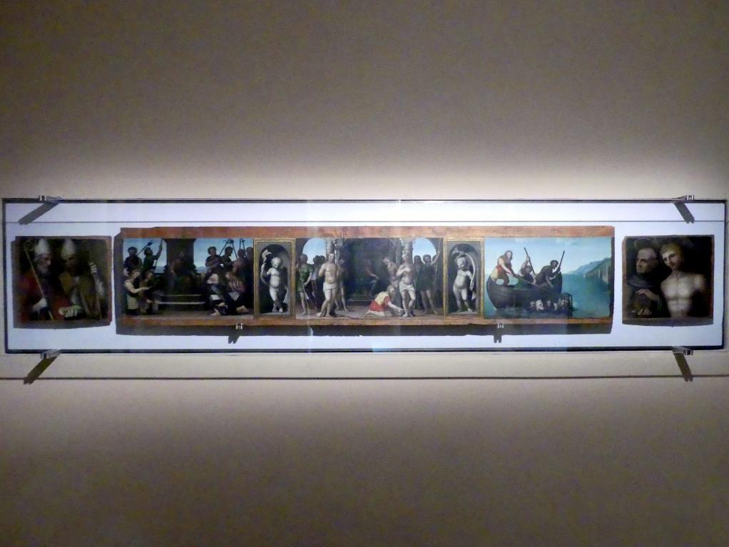 Giannicola di Paolo (Smicca): Predella, um 1512