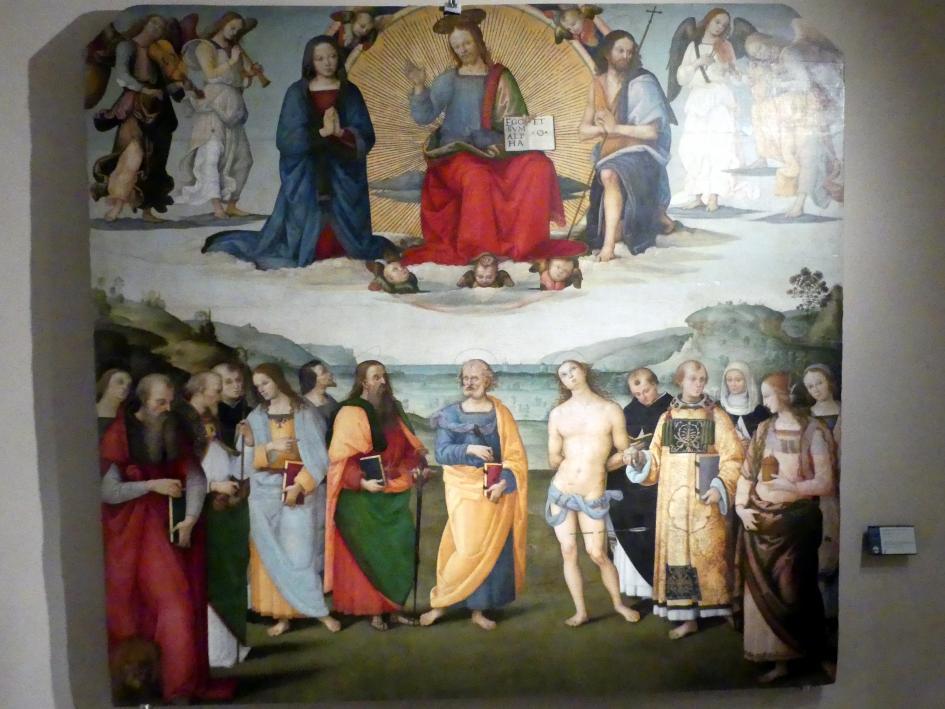 Giannicola di Paolo (Smicca): Allerheiligen-Tafel, um 1506 - 1507