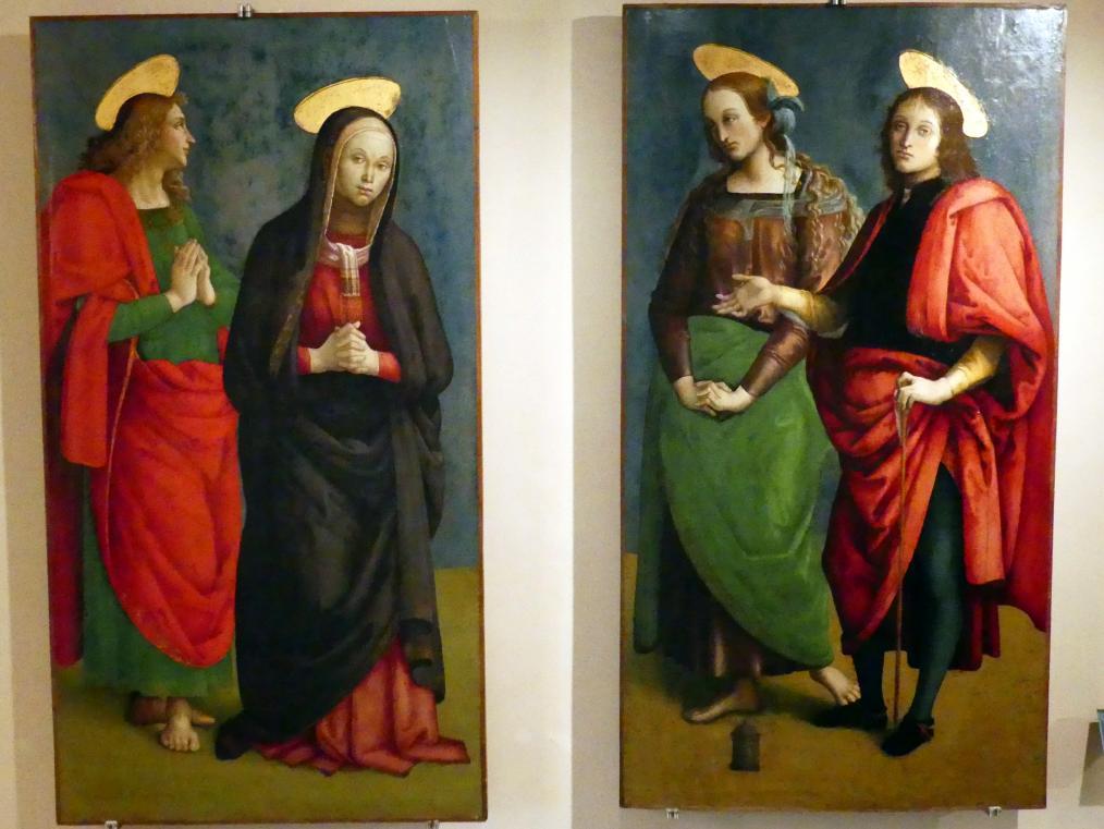 Giannicola di Paolo (Smicca): Teil einer Kreuzigungsszene, um 1505 - 1510