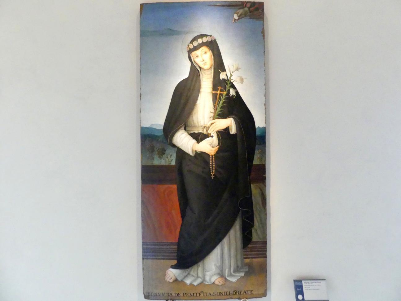 Giannicola di Paolo (Smicca): Beata Colomba da Rieti, um 1505 - 1510