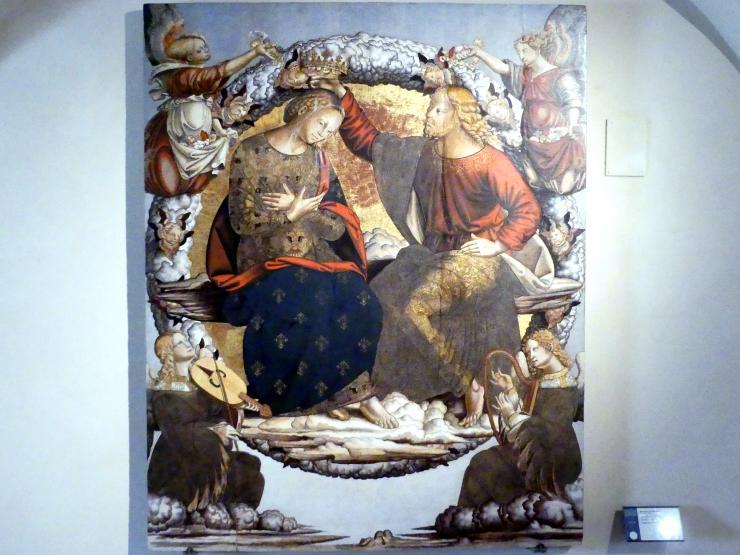 Bernardino di Mariotto: Marienkrönung, um 1528