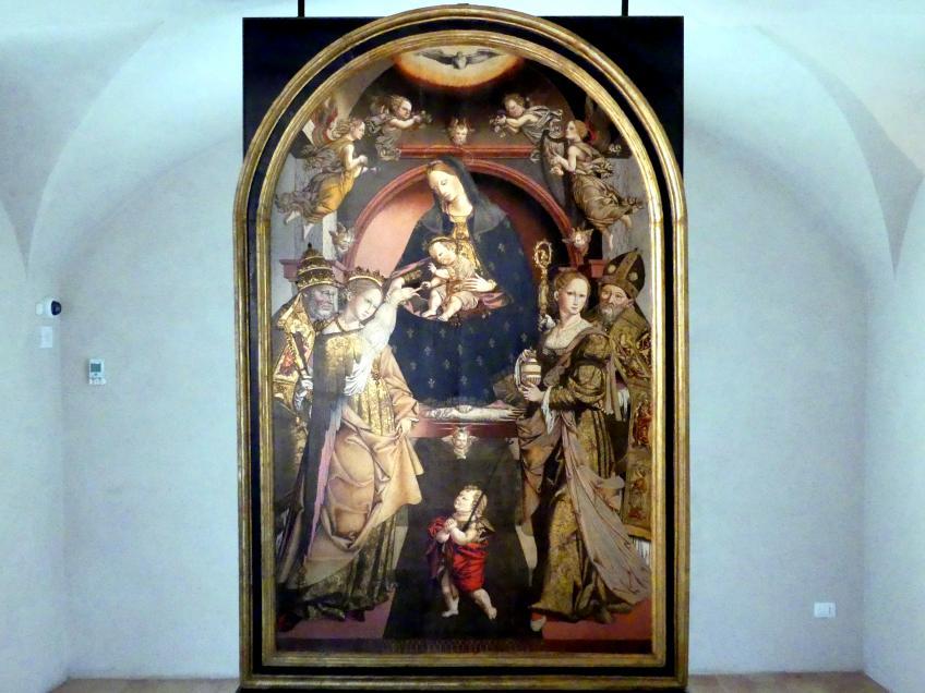 Bernardino di Mariotto: Mystische Vermählung der hl. Katharina, um 1530 - 1533