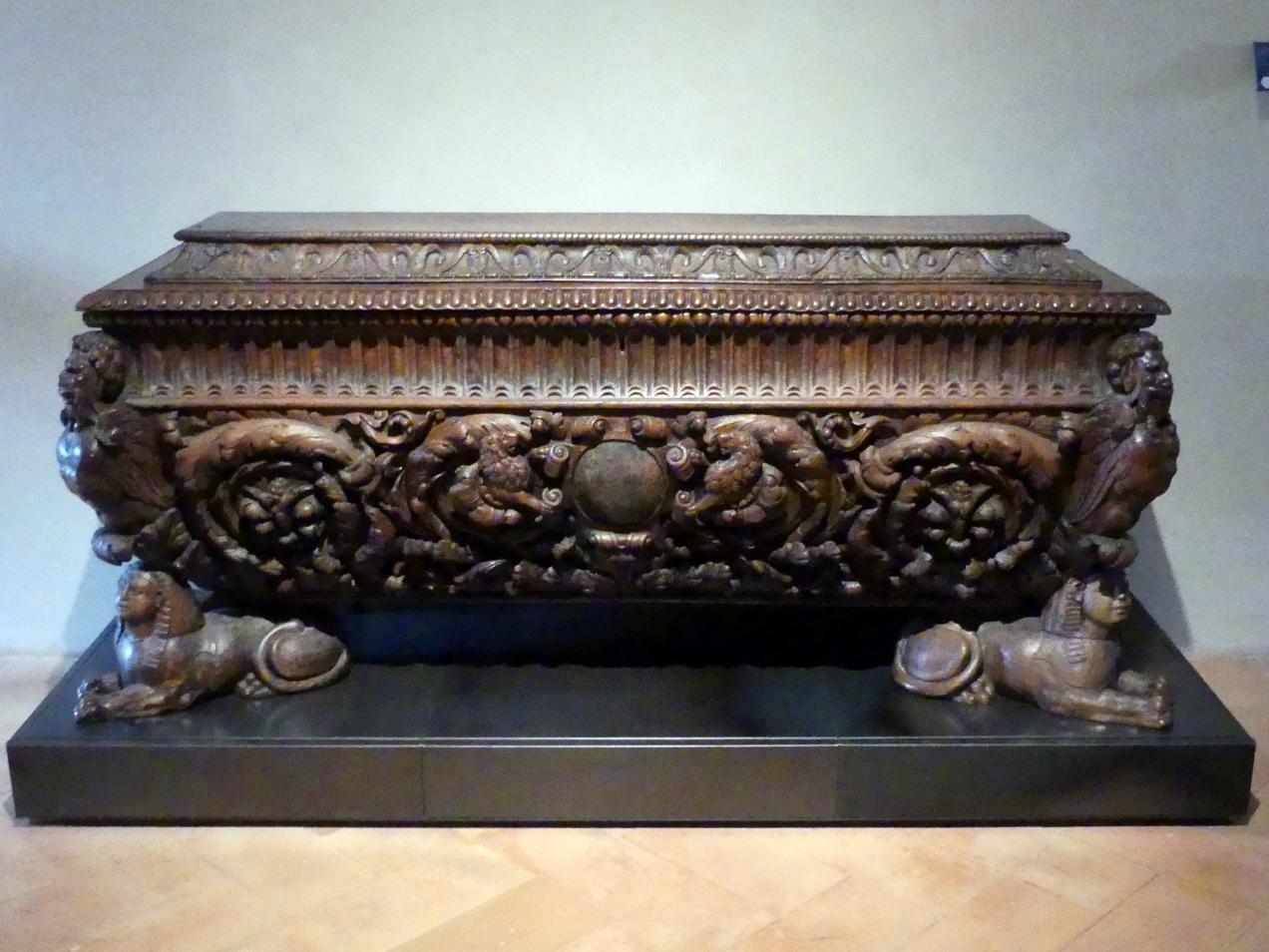 Truhe, um 1550 - 1600