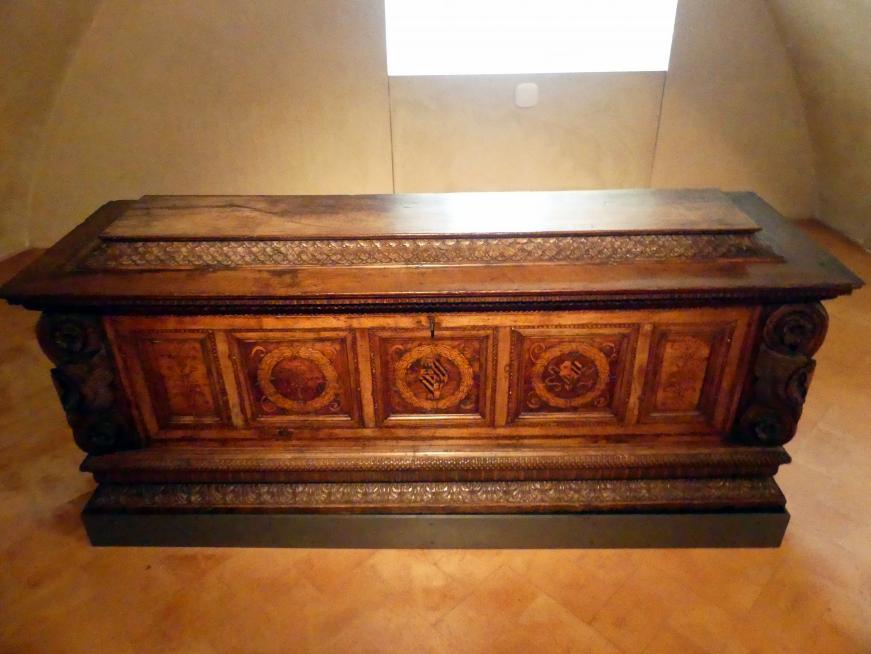 Domenico del Tasso: Truhe, um 1471 - 1503