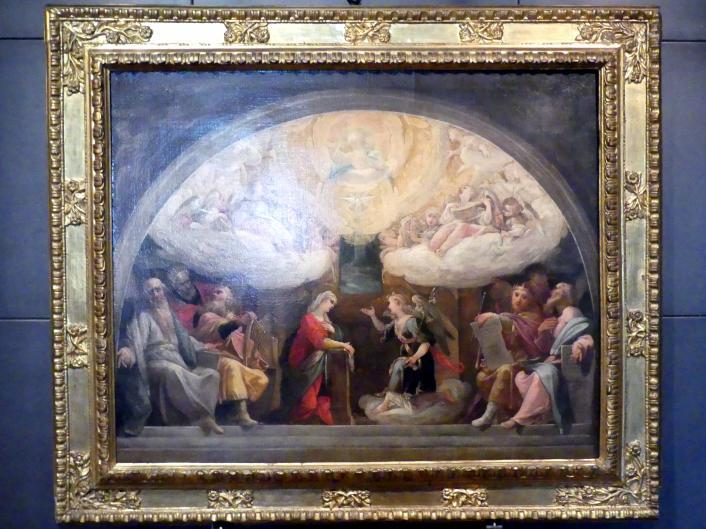 Ferraù Fenzoni: Verkündigung und Propheten, Ende 16. Jhd.