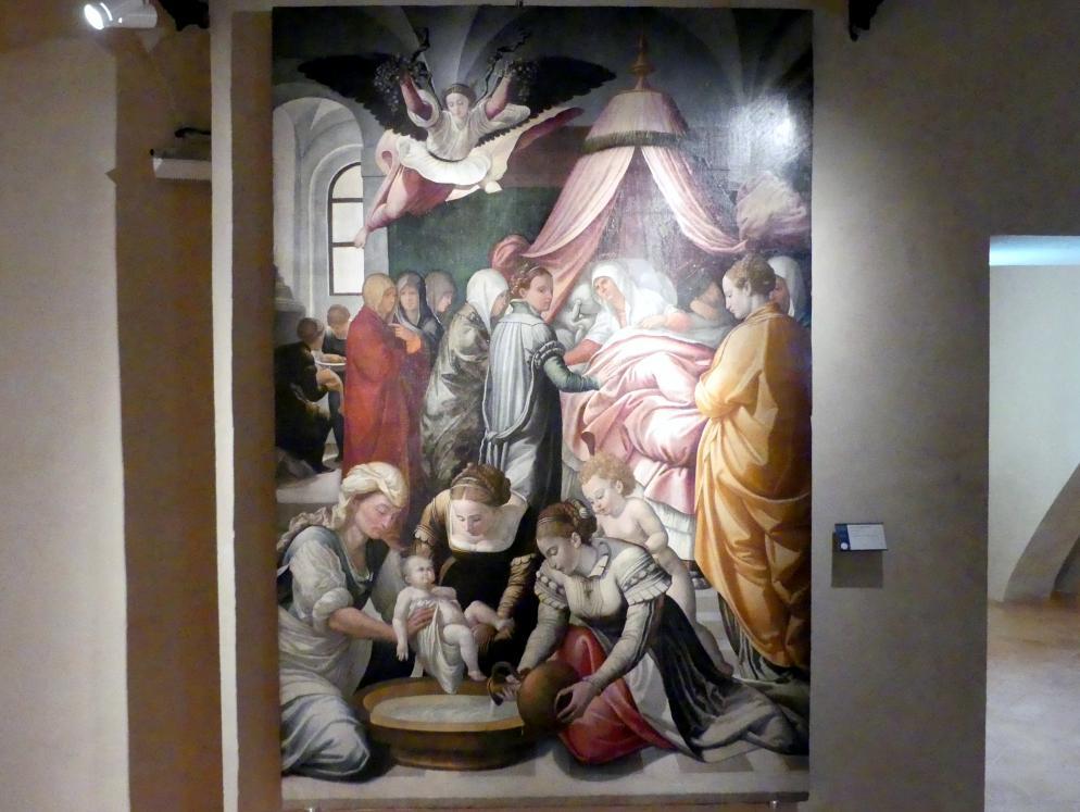 Dono Doni (Adone Doni): Geburt Mariens, 1561