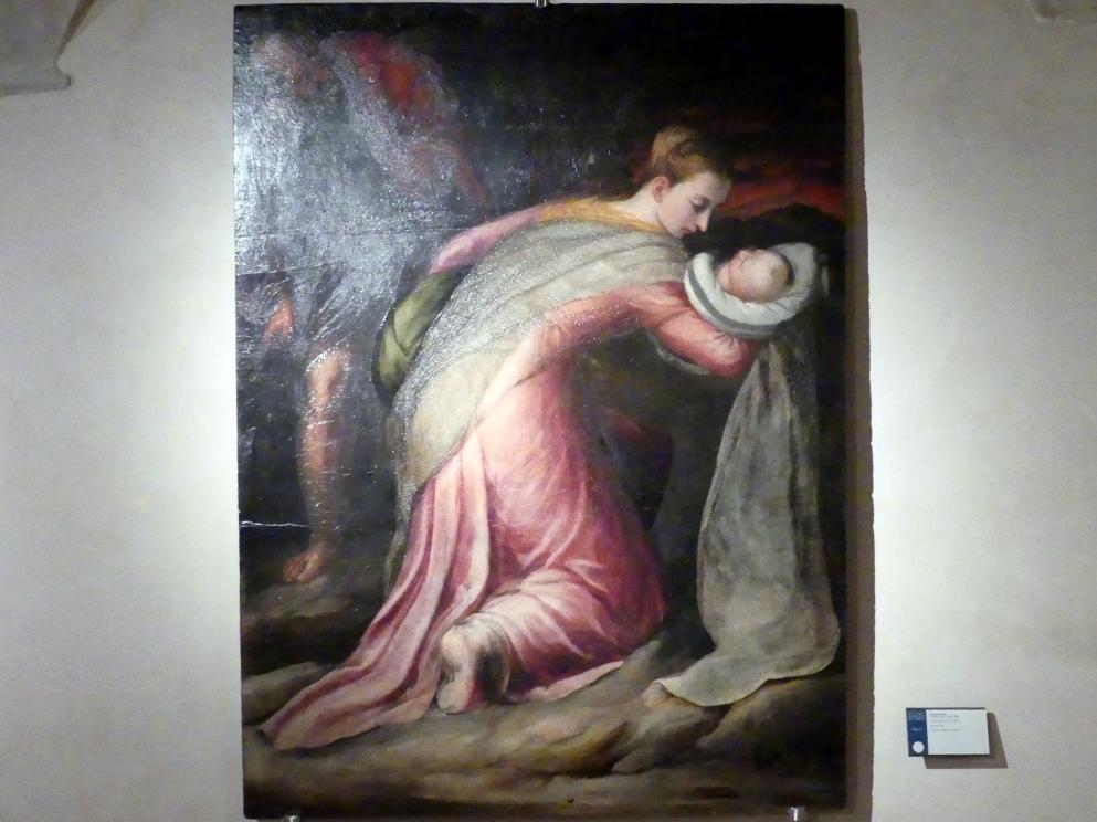 Orazio Alfani (Orazio di Domenico): Heilige Familie, Um 1550 - 1555